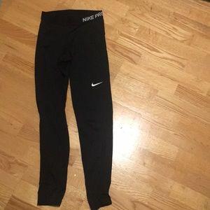 Pants - Nike pro black leggings great condition